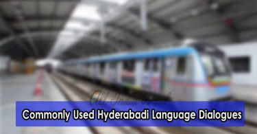 Commonly Used Hyderabadi Language Dialogues