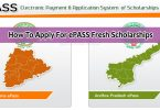 How To Apply For ePASS Fresh Scholarships