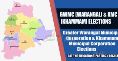 gwmc warangal and kmc khammam municipal election results